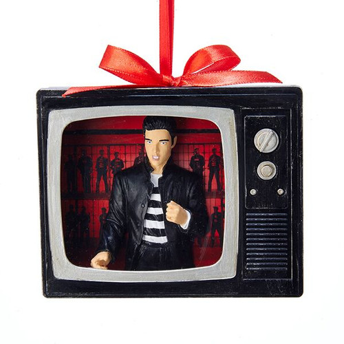 *2017* Elvis Jailhouse Rock TV Ornament