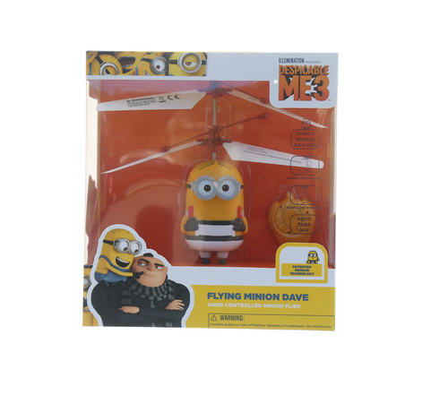 Despicable Me: Flying Minion Dave- Hand Controlled Helicopter Minion Dave Flier