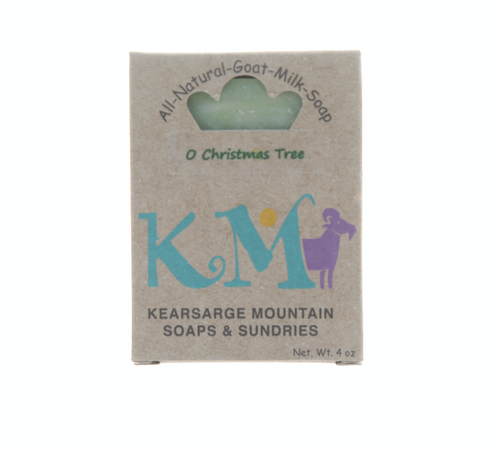 New Hampshire Goats Milk Christmas Tree Soap by Kearsarge Mountain Soaps
