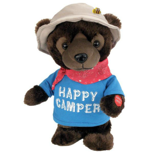 Chantilly Lane - Animated Happy Camper Bear