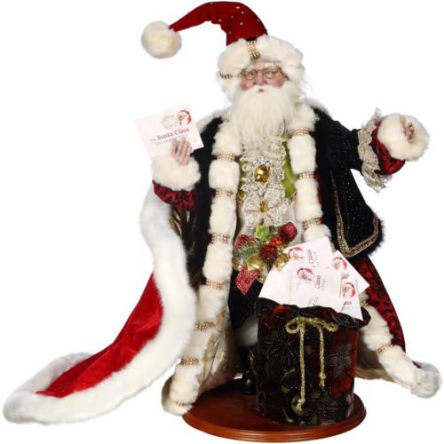 """*2017* Mark Roberts - 25"""" Santa's Mail Box"""
