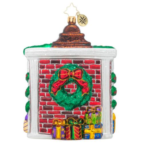 *2017* Christopher Radko - Lookout Below Dated Ornament