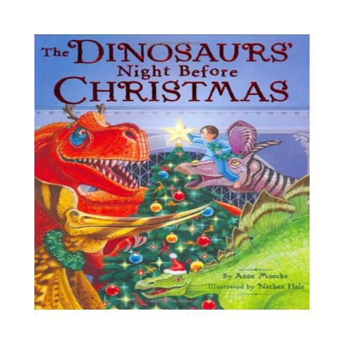 Dinsoaurs Nite before Christmas Book & CD