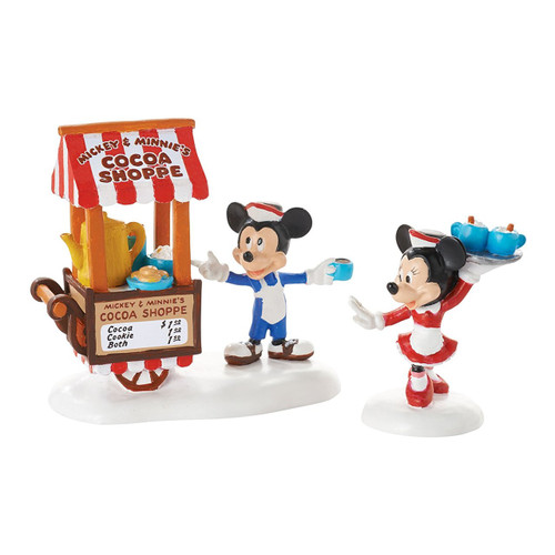 *New 2017* Department 56- Mickey's Village- Mickey's Cocoa On The Go