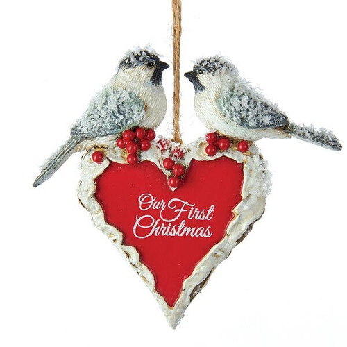 Our First Christmas Chickadees Ornament