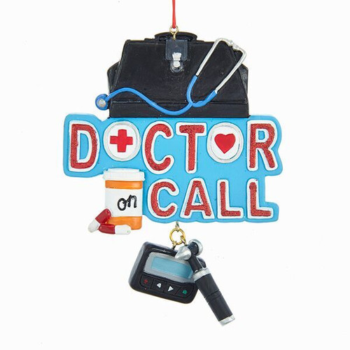 Doctor On Call Ornament