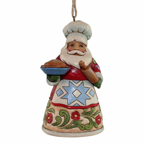 *New 2017* Jim Shore Heartwood Creek-Culinary Santa Ornament