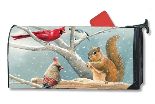 *New for 2017* Winter Snacktime Mail Box Cover