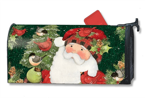 *New for 2017* Lumberjack Santa Mail Box Cover