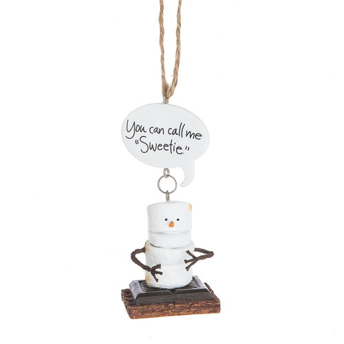 Toasted S'mores- You Can Call Me Sweetie Ornament