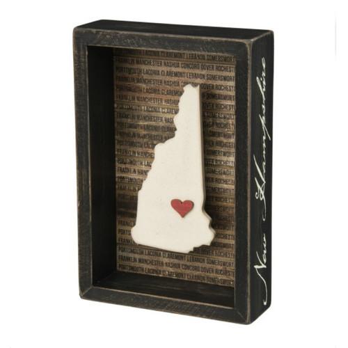 New Hampshire Box Sign
