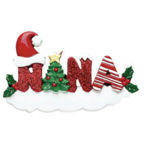 Free Personalization - Nana Ornament