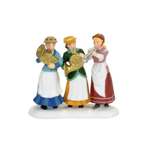*New 2017* Department 56- Dickens' Village Accessories- Ladies Auxiliary Brass Band