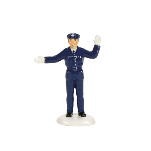 *New 2017* Department 56-  Christmas in the City Accessory-Traffic Cop
