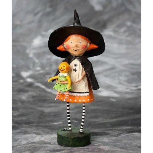Lori Mitchell Folk Art - Gretta Good Witch Figurine