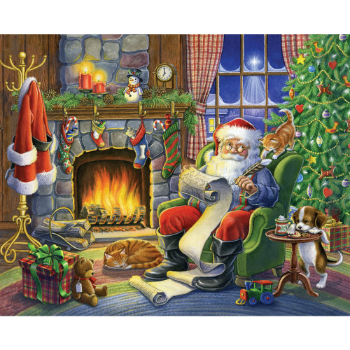 Naughty or Nice 1000 Piece Jigsaw Puzzle