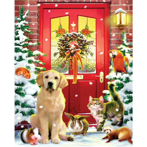 Christmas Welcome 1000 Piece Jigsaw Puzzle