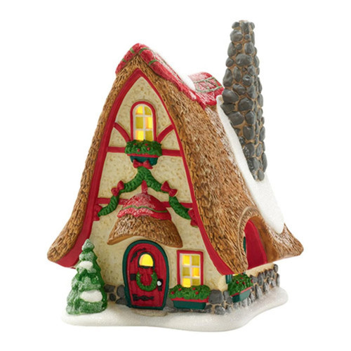 "Department 56 North Pole Series ""Tinker's Tiny Home"" Lighted Building #4036547"
