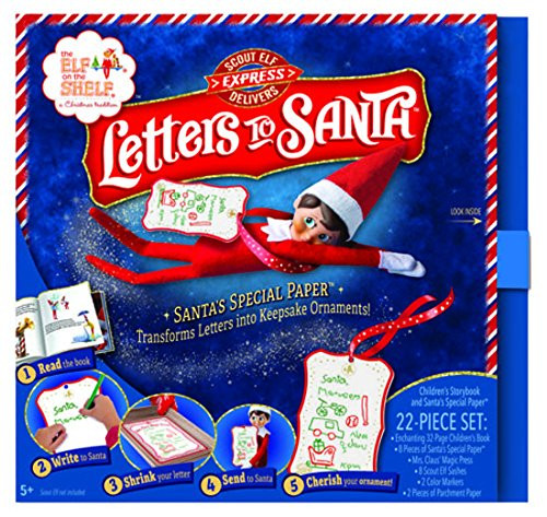 *New for 2017* Elf on the Shelf - Scout Elf Delivers Letters to Santa Book and Kit
