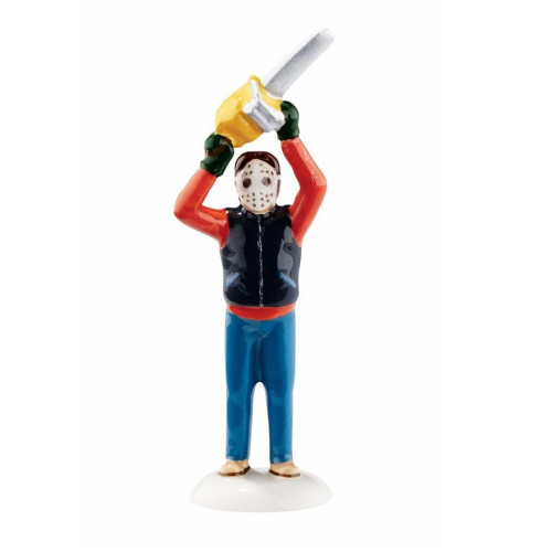 Department 56- National Lampoon's Christmas Vacation- Clark Trims the Tree