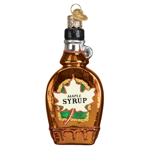 Old World Glass- Maple Syrup Ornament