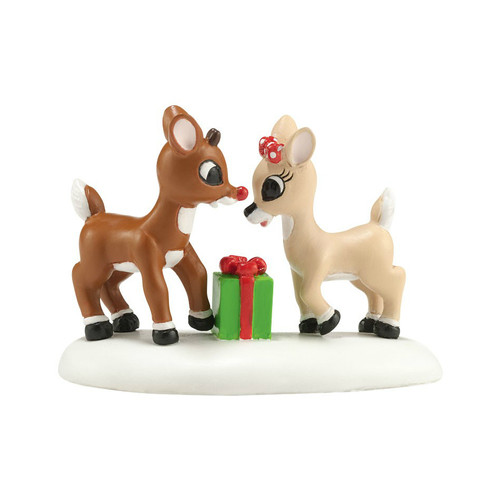Department 56- North Pole Village Accessory- A Gift from Rudolph