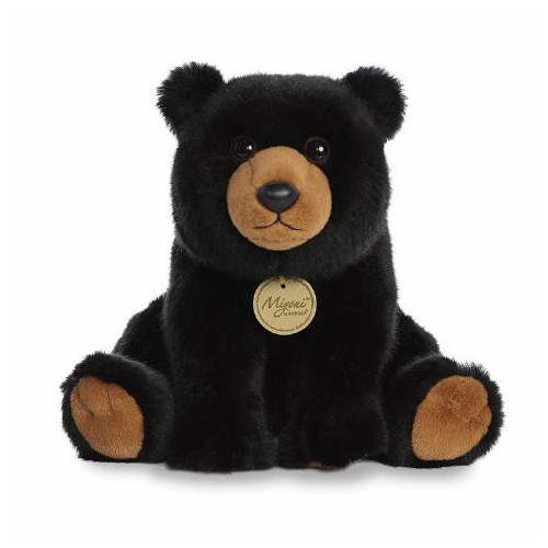 Aurora World 10 inch Black Bear Plush