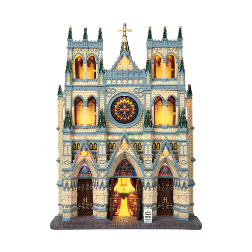 Lemax- St. Patrick's Cathedral Building