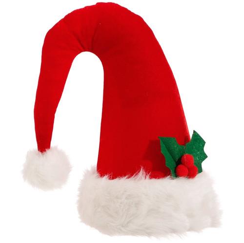 "14.5"" Santa Hat Tree Topper"