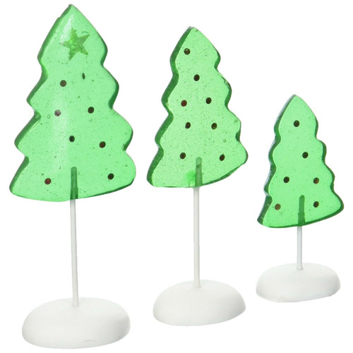 Department 56 - Candy Corner Trees, Set of 3