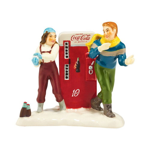 Department 56 - Original Snow Village Coke Adds Life Accessory