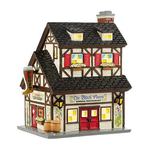 Department 56 - Original Snow Village - The Black Forest Restaurant