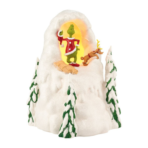 Department 56 - Grinch Villages Mount Crumpet Lit House