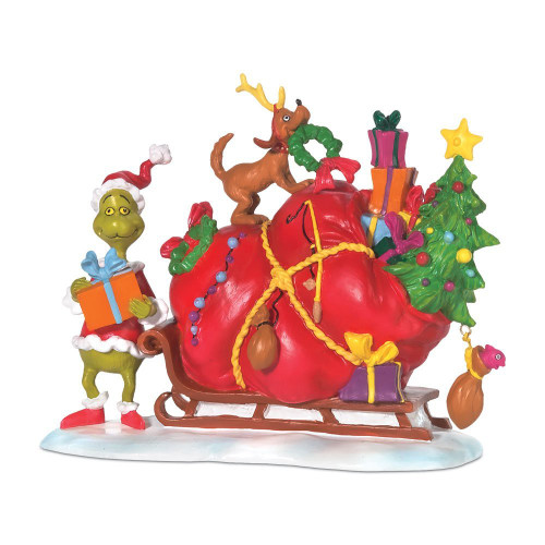 Department 56 - Grinch's Village - Grinch's Small Heart Grew Village Accessory