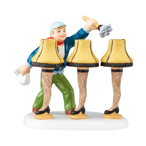Department 56 -  A Christmas Story - Fragile Handle with Care Village Accessories