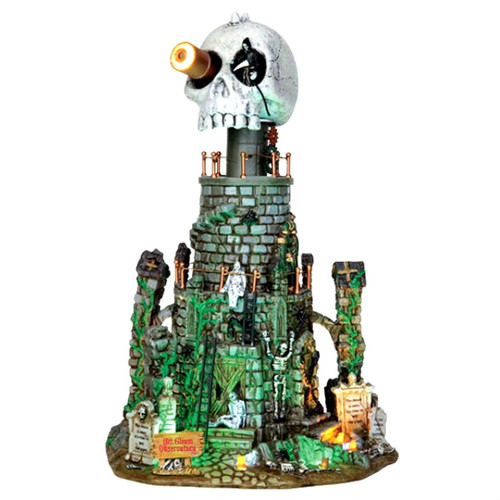 lemax mt gloom observatory spooky town building halloween decor