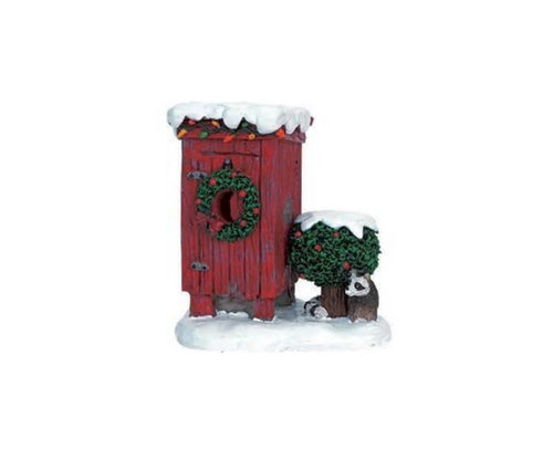 LeMax - 2006 Christmas Outhouse Holiday Village Accessory