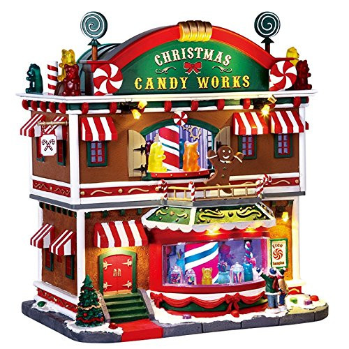 Lemax Christmas Candy Works Village Building