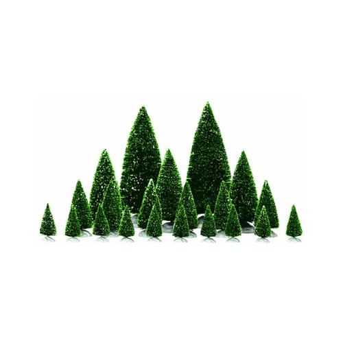 Lemax Village Accessory Assorted Pine Trees