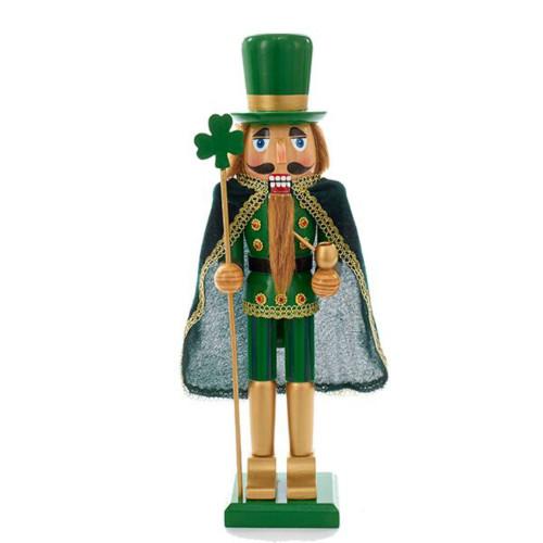 "Kurt Adler - 15"" Wooden Irish Nutcracker"