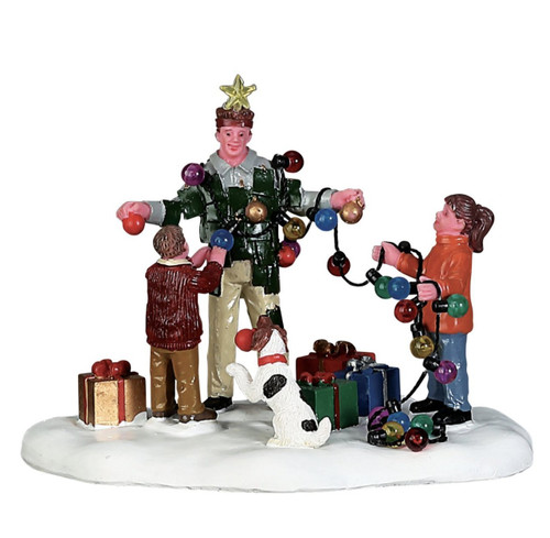 Lemax Village Collection Christmas Tree Dad