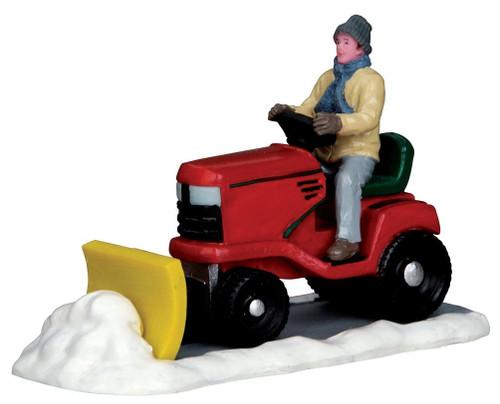 Lemax - Ride on Snowplow
