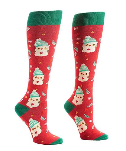 Yo Sox Women's Christmas Knee High Novelty Socks