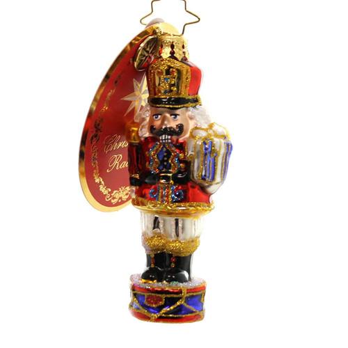 Christopher Radko Brigadier Major Cracker Ornament