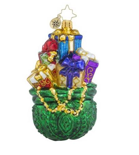 Christopher Radio - Emerald Treasures Ornament