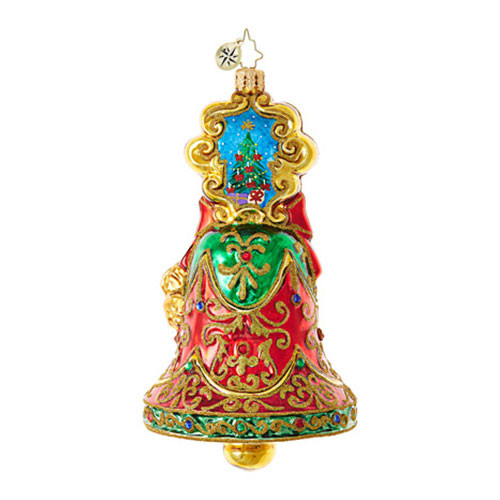 Christopher Radko Exquisite Jingle Bell Ornament