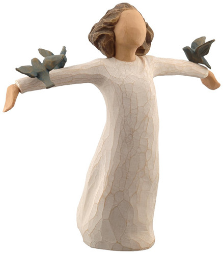 Willow Tree Happiness figure by Susan Lordi