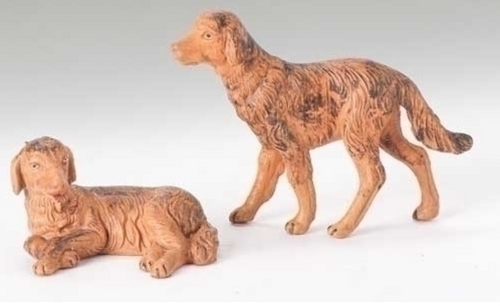 Nativity  - Dogs - Set of two