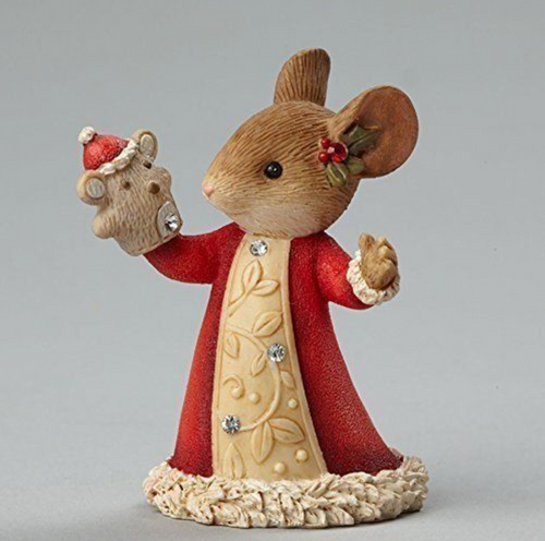 Heart Of Christmas 4046841 Mouse With Puppet Figurine 2017