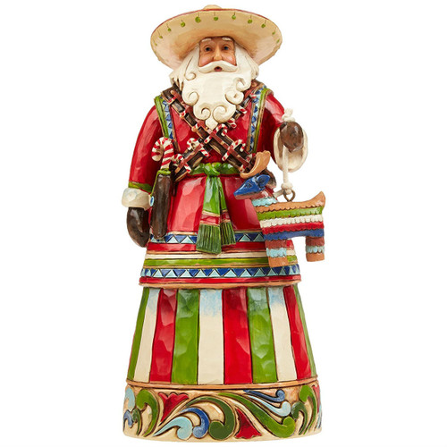 Jim Shore Mexican Santa Figurine